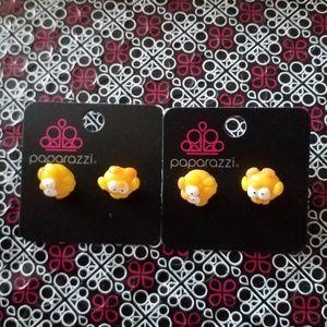 Paparazzi Girl Duck Earrings